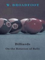 Billiards - On the Rotation of Balls