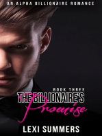 The Billionaires Promise (The Billionaires Crush - Book 3)