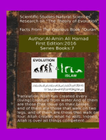Research on The Theory of Evolution