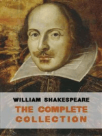 The Complete Works of William Shakespeare (37 plays, 160 sonnets and 5 Poetry Books With Active Table of Contents)