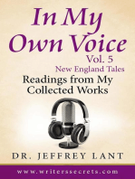 In My Own Voice - Reading from My Collected Works Vol. 5 – New England Tales