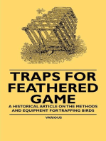 Traps for Feathered Game - A Historical Article on the Methods and Equipment for Trapping Birds