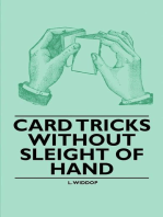 Card Tricks Without Sleight of Hand