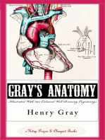 Gray's Anatomy (Illustrated With 1247 Coloured Well Drawing Engrawings): [Autobiography & Book's History & Index Added]