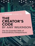 A Joosr guide to... The Creator's Code by Amy Wilkinson