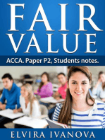 Fair Value. ACCA. Paper P2. Students notes.: ACCA studies