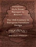 Furniture Style from Baroque to Rococo - The 18th Century in European Furniture Design
