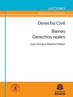 Derecho Civil: Bienes / Derechos Reales