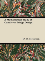 A Mathematical Study of Cantilever Bridge Design