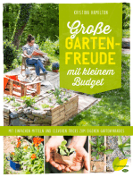 Große Gartenfreude mit kleinem Budget