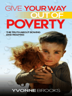 Give Your Way Out of Poverty