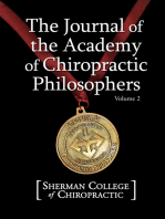 The Journal of the Academy of Chiropractic Philosophers Vol. 2