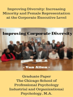 Improving Corporate Diversity