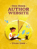 One-Hour Author Website