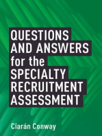 Questions and Answers for the Specialty Recruitment Assessment