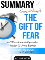 Gavin de Becker's The Gift of Fear Survival Signals That Protect Us From Violence   Summary
