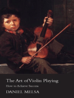 The Art of Violin Playing - How to Achieve Success
