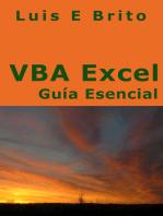 VBA Excel Guía Esencial