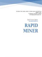 Rapid Miner ile Veri Madenciliği