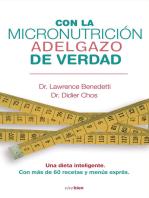 Con la micronutrición adelgazo de verdad