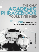 The Only Academic Phrasebook You'll Ever Need