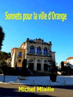 Sonnets pour la ville d'Orange