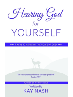 Hearing God for Yourself