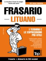 Frasario Italiano-Lituano e mini dizionario da 250 vocaboli
