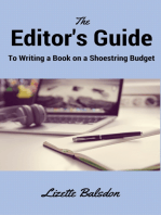 The Editor's Guide to Writing a Book on a Shoestring Budget