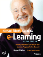 Michael Allen's Guide to e-Learning