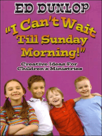 I Can't Wait Till Sunday Morning