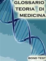 Glossario Teoria di Medicina