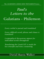 Paul's Letters to the Galatians
