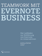 Teamwork mit Evernote Business