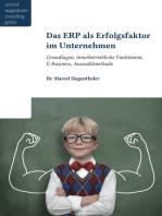 Das ERP als Erfolgsfaktor für Unternehmen