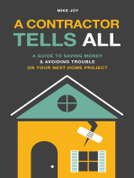 A Contractor Tells All