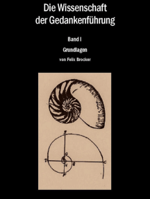 Die Wissenschaft der Gedankenführung Band 1 - Grundlagen