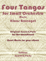 Four Tangos for Small Orchestra