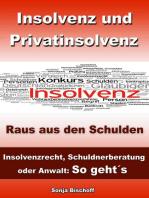 Insolvenz und Privatinsolvenz - Insolvenzrecht, Schuldnerberatung oder Anwalt