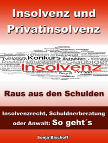 Insolvenz und Privatinsolvenz - Insolvenzrecht, Schuldnerberatung oder Anwalt: So geht´s: Raus aus den Schulden