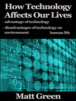 How Technology Affects Our Lives