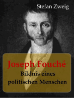 Joseph Fouché Bildnis eines politischen Menschen