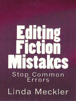 Editing Fiction Mistakes