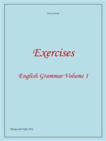 Exercises - English Grammar Volume 1