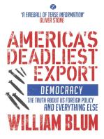 America's Deadliest Export