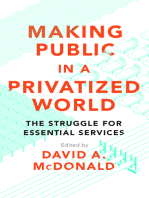 Making Public in a Privatized World