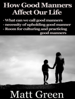 How Good Manners Affect Our Life
