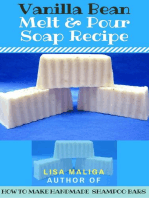 Vanilla Bean Melt & Pour Soap Recipe