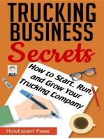 Trucking Business Secrets