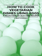 How to Cook Vegetarian Dishes using Eggs - A Selection of Old-Time Recipes